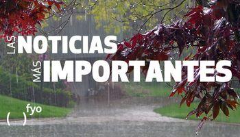 Temas del día: lluvias generalizadas, siembra de soja, crisis del agro, biodiésel