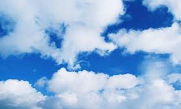 Cielo algo nublado para los próximos días