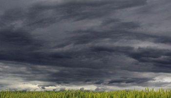 Nubes sin gran potencial pluvial