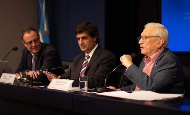 """""""Haber recuperado un bien público como la credibilidad de las estadísticas públicas es un orgullo"""", destacó Lacunza."""