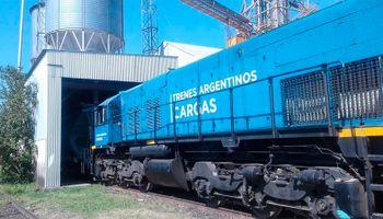 La línea Urquiza volvió a transportar granos luego de 5 años