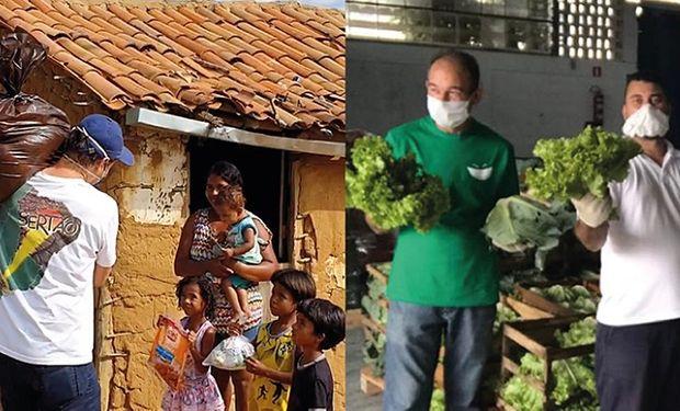La fundación AGCO donó más de 350 mil reales a organizaciones de Argentina y Brasil que luchan contra el hambre
