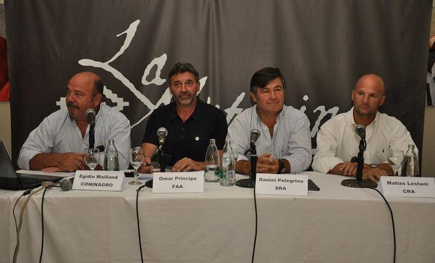 Panel de las entidades agropecuarias.
