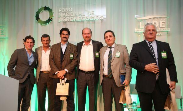 Panel de Innovación en el V Foro de Agronegocios de LIDE. Foto: LIDE Argentina.