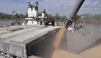 Se complica paritaria y peligran las exportaciones de granos