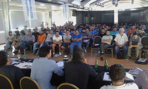 Plenario Nacional de delegados de trabajadores aceiteros realizado el pasado 16 de marzo.