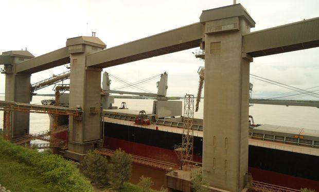 Paro afecta embarques de granos en algunos puertos de Rosario