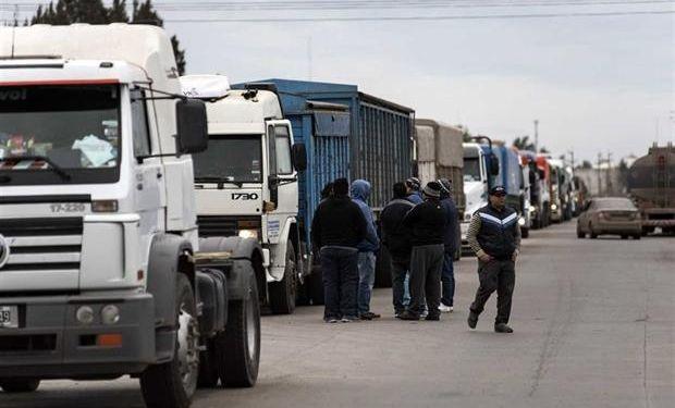 Aseguraron que esta semana ingresaron un 98% menos de camiones, en relación a la semana pasada.