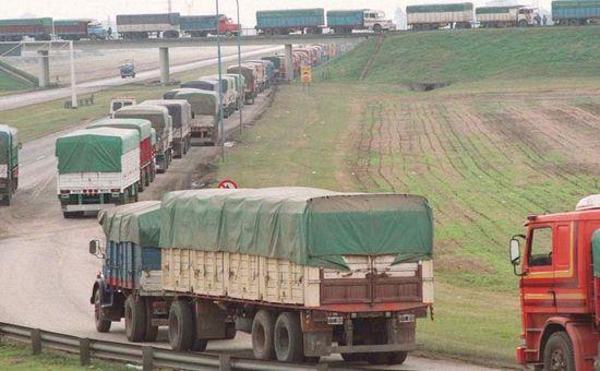 Se realizaron denuncias penales para proteger a los transportistas que quieren seguir trabajando.