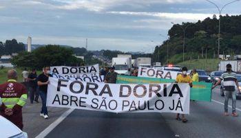 Con bajo impacto, comenzó la protesta de camioneros en Brasil