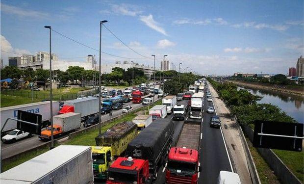 Hubo protestas en el estado de Río Grande do Sul, en el sur del país, pero el tráfico no fue bloqueado, dijo la policía.