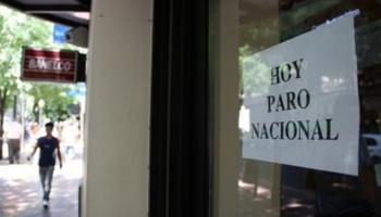 Paro nacional de actividades bancarias