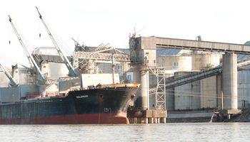 Paro afectará el suministro de granos en puertos de Argentina