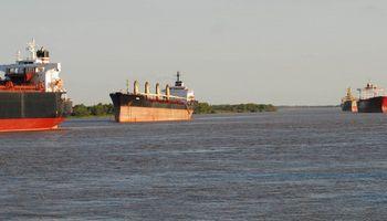 Continúa el paro en el área portuaria de Rosario