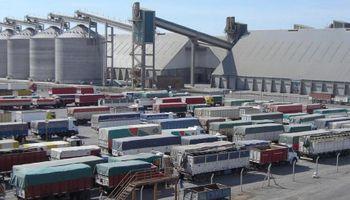 Paro en los puertos del Gran Rosario