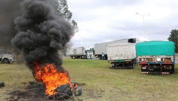 Entre Ríos: comenzó el paro de transportistas y la Mesa de Enlace manifestó su preocupación