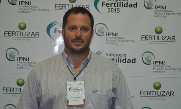 """Pedro Barbagelata: """"La intensificación ecológica de cultivos es el camino por el que deberíamos transitar para mejorar tanto los balances de carbono como los balances de nutrientes""""."""