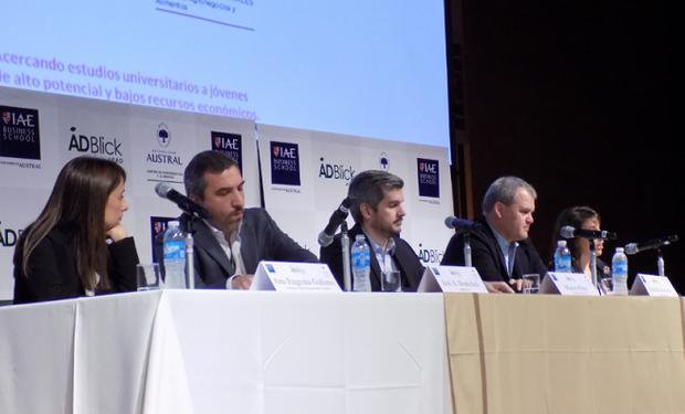 Panel de apertura de Argentina Visión 2020.