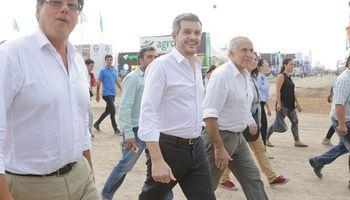 Marcos Peña pasó por Expoagro y destacó el despegue del sector