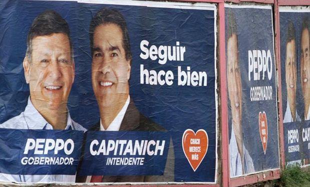 Domingo Peppo, delfín de Capitanich, enfrenta a la radical Ayala.Foto:DyN.