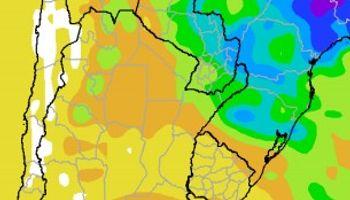 Calor y precipitaciones sobre el norte del área agrícola
