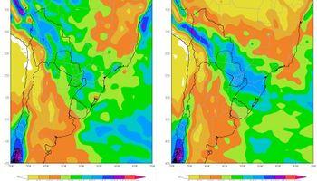 Efectos de El Niño, recién en primavera