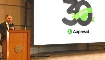 """Aapresid festejó sus 30 años con un mensaje """"verde"""""""