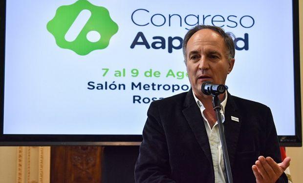 Alejandro Petek, presidente de Aapresid.