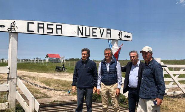 """Pichetto desde el campo de los Etchevehere: """"Grabois es un verdadero problema para la Argentina"""""""
