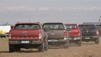 En abril se vendieron casi 40% menos camionetas que hace un año