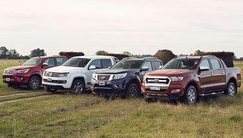 Las camionetas lideran las ventas, a pesar de la caída del 10% en los patentamientos