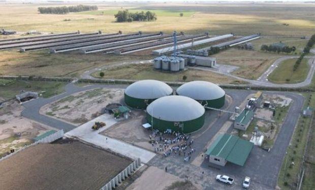 Ponen en marcha una planta de biogás en General Alvear