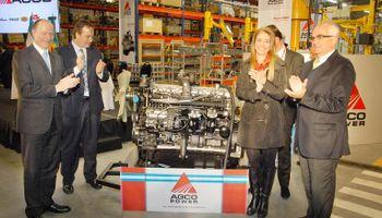AGCO inauguró la fábrica de AGCO Power en Argentina