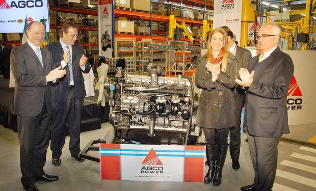 Con esta  nueva  fábrica de  motores, AGCO continúa  demostrando su compromiso  de  inversión  y crecimiento  en el país.