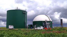 Se puso en marcha una planta de biogás de 1 megawatt que se alimenta con silo de maíz y desechos de feedlots