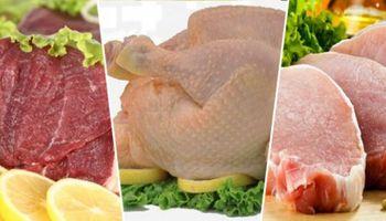 Por primera vez, el consumo de pollo y cerdo le gana a la carne vacuna