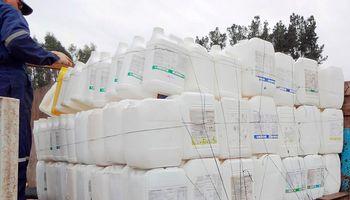 El tratamiento de envases  vacíos de fitosanitarios creció un 1000%