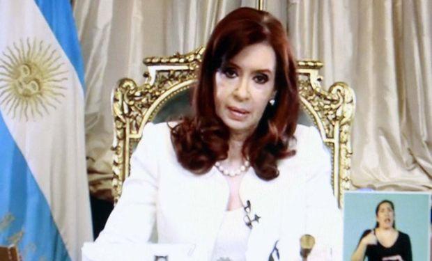 """Cristina Kirchner, tras la negativa de la Corte de EE.UU.: """"La Argentina no va a defaultear su deuda reestructurada"""""""