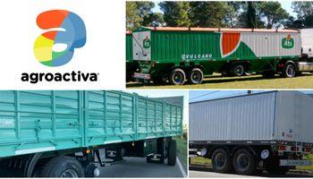 El transporte de granos dirá presente en Agroactiva