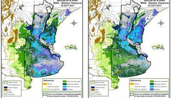 Las reservas de humedad se mantienen óptimas en la zona núcleo