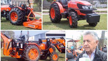 Lanzaron oficialmente los tractores Kubota en Argentina