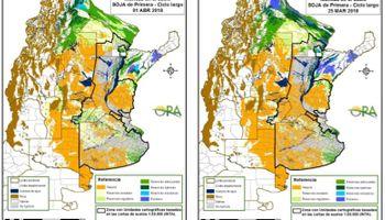 Las lluvias no alcanzaron a modificar las reservas en zona núcleo