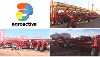 Las sembradoras más grandes pasaron por Agroactiva