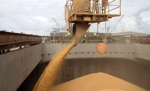 """""""Estamos en pleno tiempo de cosecha sacando 30.000 toneladas de trigo"""", aseguró el titular del Ente Autárquico Puerto Diamante."""