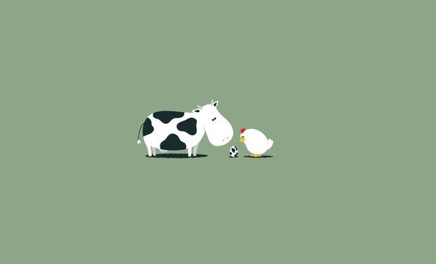 Continúa la disputa entre el precio de la carne de vaca y el de pollo.