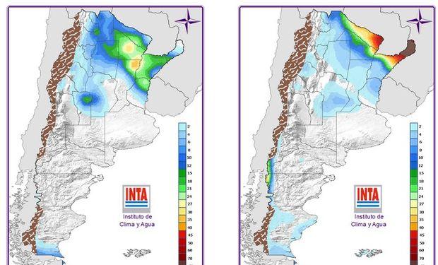 Mapa de Precipitaciones: 24 y 48hs