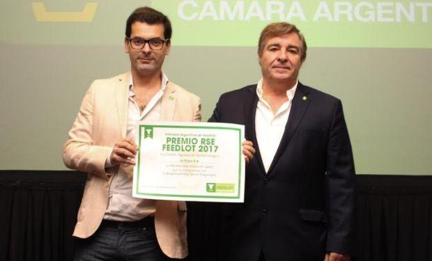 """""""Es un orgullo haber sido seleccionados como el mejor proyecto"""", agradeció Pablo Latuf, Presidente de Agroganadera Latuf."""