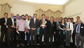 Lúpulo de la Patagonia y Paluan SRL obtuvo el Gran Premio al Emprendedor Agropecuario 2015