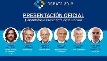 Debate presidencial 2019: fecha, hora y temas que tratarán los candidatos