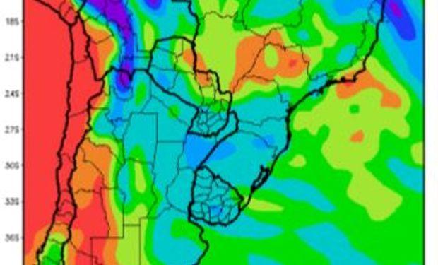 Precipitaciones previstas para la primavera.